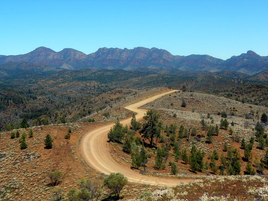 Flinders Ranges National Park, Australië: Bunyeroo Road (Flinders Ranges)