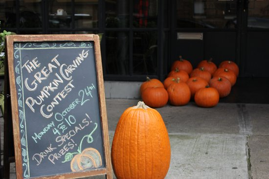 Happy Fall Astoria! Join Us for Our First Annual Jack-O-Lantern Carving Contest tonight