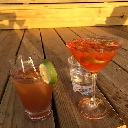 Sheer Rocks: Sunset Cocktails