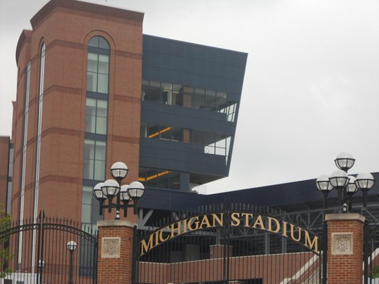 Ypsilanti, MI: University of Michigan Stadium, 20 minutes away