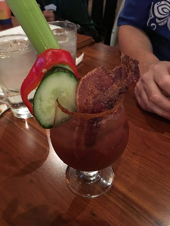 Silver Spring, MD: candied bacon bloody mary