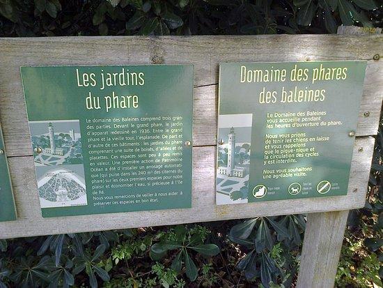 Saint Clement des Baleines, ฝรั่งเศส: panneaux