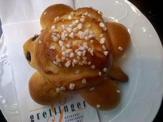 Reinach, Suisse : Café Grellinger, Basel, Juli 2016