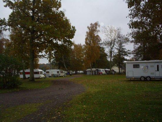 Jagersbo Camping: Bild tagen i slutet av oktober