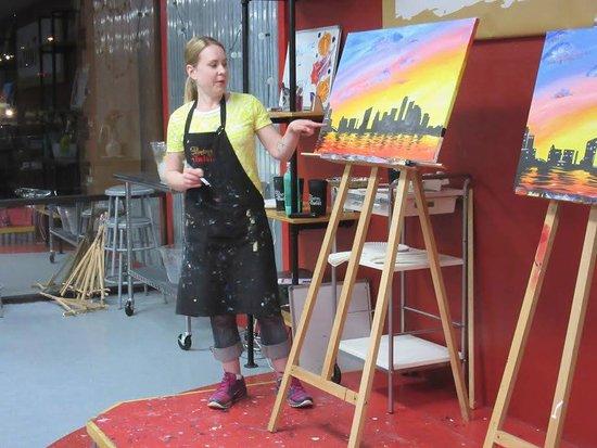 Round Rock, TX: Adrienne teaching Austin Sunrise