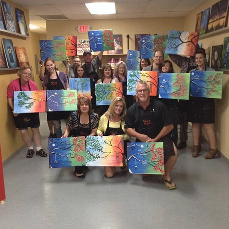 Model Of Painting With A Twist Couples of bffs paintings Fresh - Simple painting with a twist paintings Plan