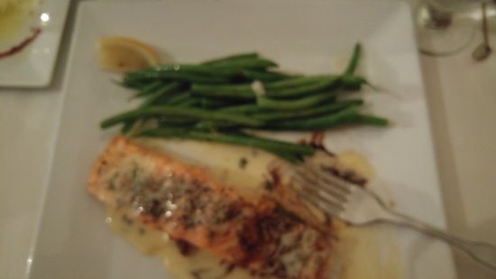 Warrensburg, NY: Oven baked Salmon