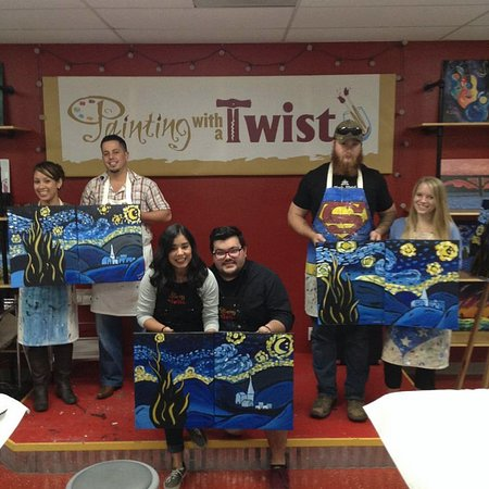 Round Rock, TX: Starry Night couples class