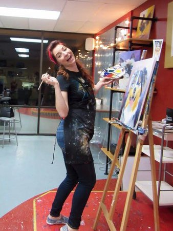 Round Rock, TX: Mary teaching Paint Your Pet