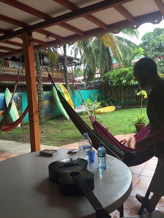 Spanish at Locations - Bocas del Toro: Everyone loves the hammocks