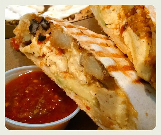 the ultimate breakfast burrito 12 tortilla crammed with all you