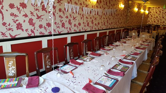 Frodsham, UK: Waiting for the guests
