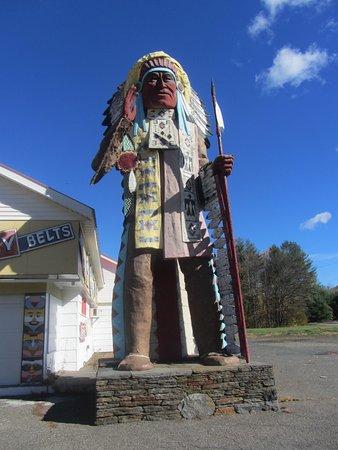 Shelburne Falls, MA: Big Indian