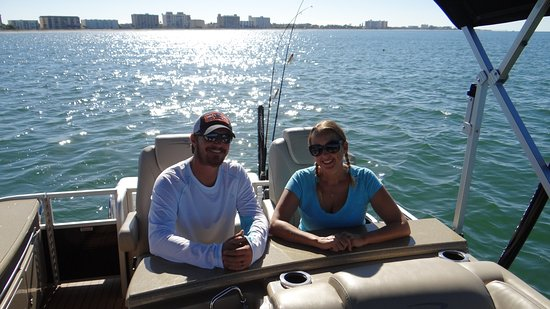 Osprey, FL: Meet Captain John and First Mate Ali...we are a GREAT time!