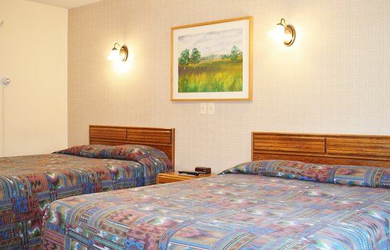 Northern Family Motel : standard room with 2 beds queen or doubles