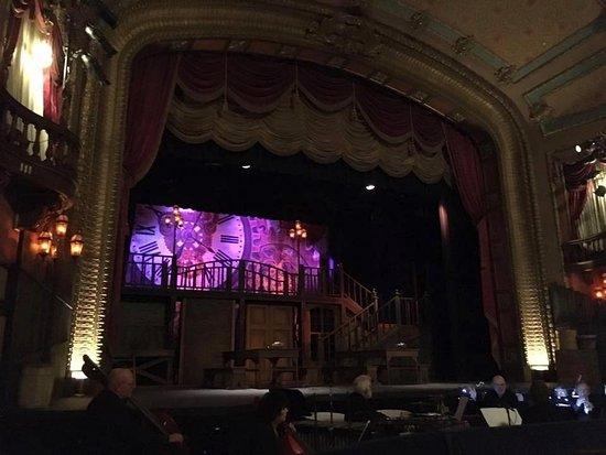 Bozeman, MT: The Ellen Theatre's set for summer musical Oliver!