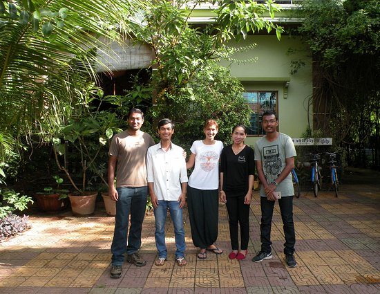 Firefly Guesthouse- The Berlin Angkor: Property Owner Emma And Staffs (Lee and manager)