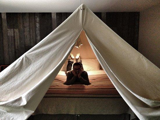 Basecamp South Lake Tahoe: tent room