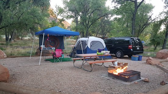 Watchman Campground D loop #18. 10/15/16