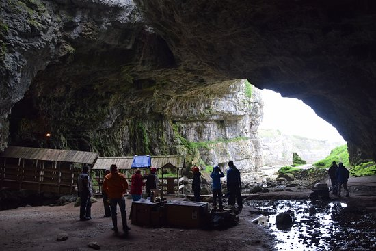 Smoo Cave: Entrance of the cave