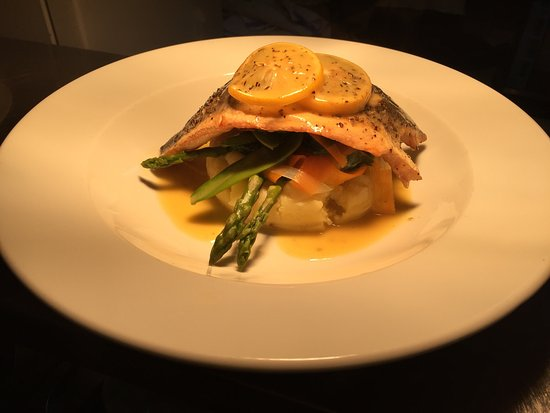 The Royal Hotel: Fresh sea bass fillet