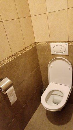 Aparthotel Lublanka: separate toilet