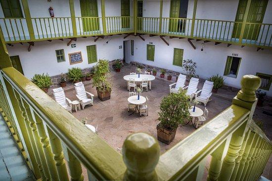 Ninos Hotel Fierro: Our patio
