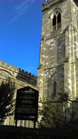 Salisbúria, UK: The Parish Church of St Thomas and St Edmund