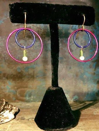 Solana Beach, Californië: Handcrafted Earrings