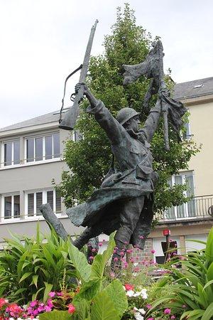Saint-Lo, Francia: WW2