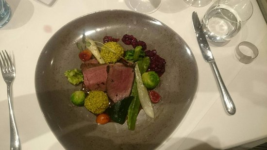Weissensee, Oostenrijk: ausgezeichnete Küche