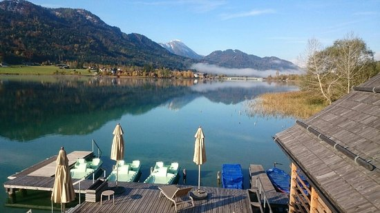 Weissensee, Oostenrijk: Wellness direkt am See