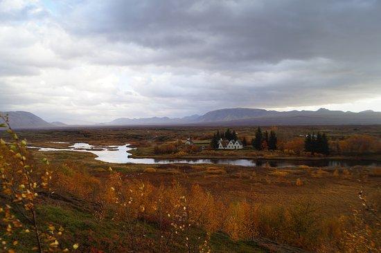 Тингвеллир, Исландия: Blick in den Nationalpark
