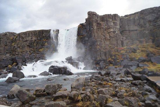 Тингвеллир, Исландия: Öxarárfoss