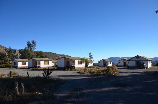 Putre, Chile: vue des bungalows