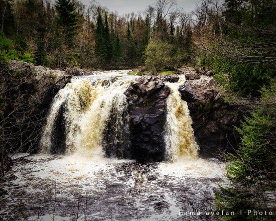 ซูพีเรียร์, วิสคอนซิน: Little Manitou Falls