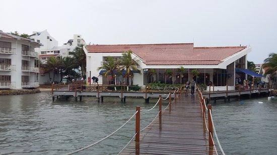 Decameron Aquarium: Lobby