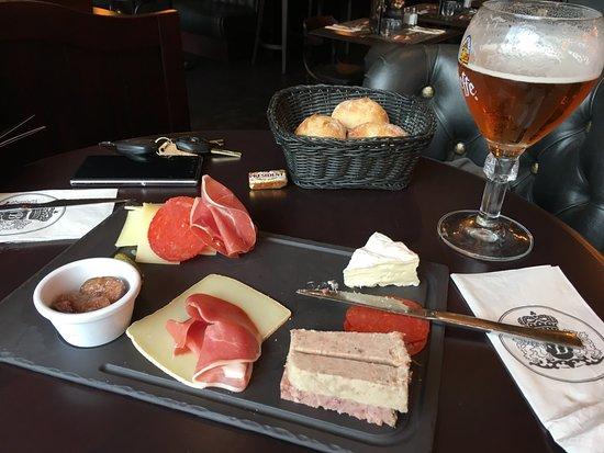 Cheese and meat plate photo de au bureau anglet tripadvisor