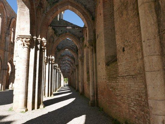 Chiusdino, อิตาลี: abbazia di S.Galgano