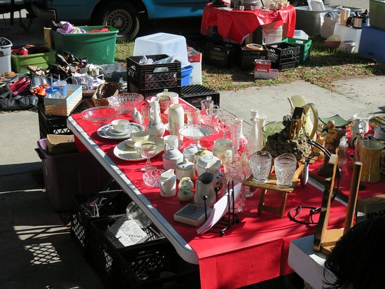 Pinellas Park, Floride : Just one vendors tables