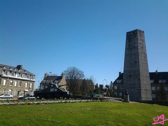 Avranches, Francia: mémorial Général Patton