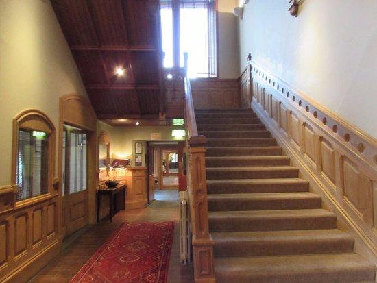 Nairn, UK: Nice big hallways