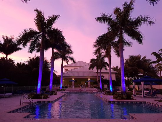 Provident Doral at The Blue Miami: enjoying an early evening Margharita along the pool side