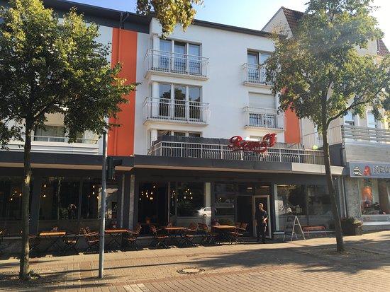 Bad Oeynhausen, Alemanha: Eingang direkt am Bahnhof