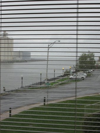 Oswego, NY: View of the lake from inside