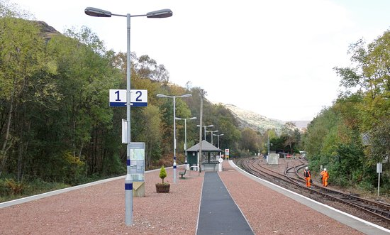 Ardlui Station on the West Highland Line