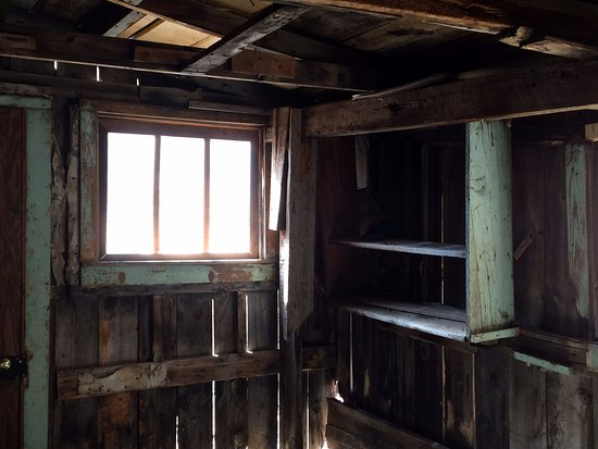Animas Forks: Inside one of the remain structures