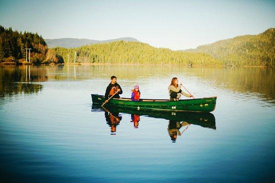 Prince Rupert, Kanada: Canoe trips for all ages
