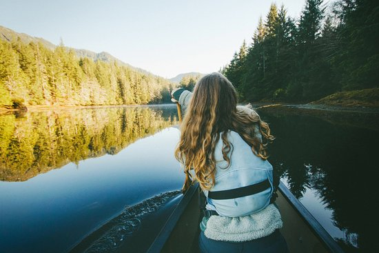 Prince Rupert, Canada: Picture yourself in our canoe