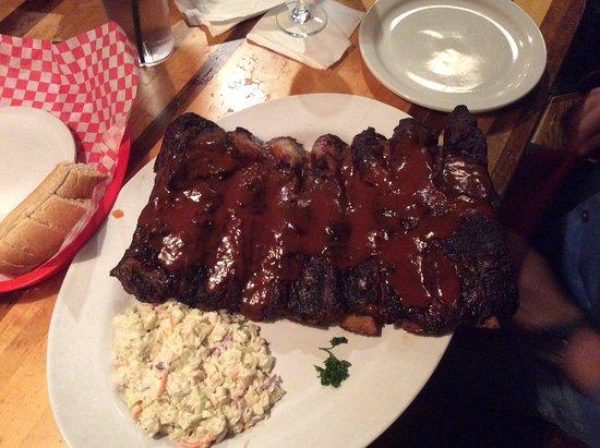 County Line : Big Daddy beef rib dinner.